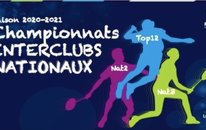 J1 : Interclubs NATIONAUX 2020-2021